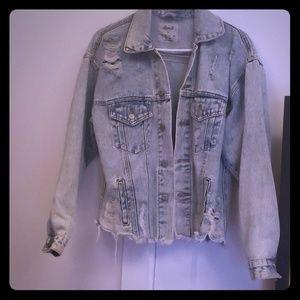 NWOT Super Cute Denim and Co Denim Jacket